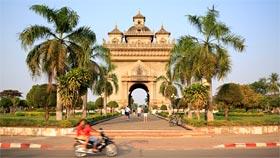 Triumphbogen in Vientiane