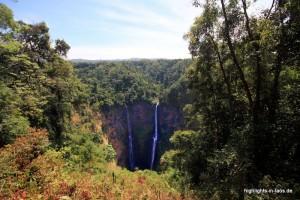 Tad Fane Wasserfall im Bolaven-Plateau