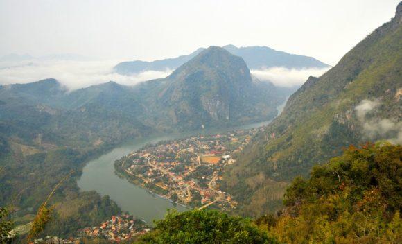 Sicht auf Nong Khiaw