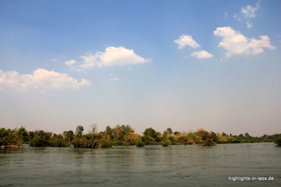 Der Mekong in Si Phan Don