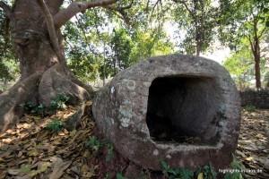Tonkrug unterm Baum