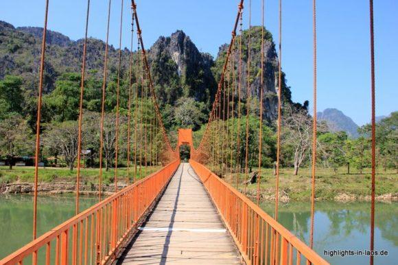Brücke in Vang Vieng