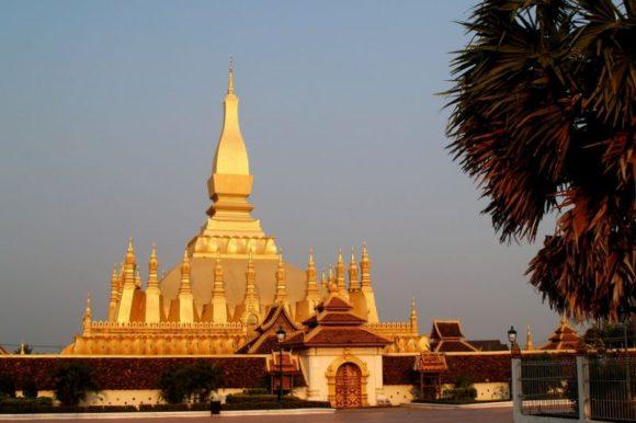 Pha Tat Luang in Vientiane