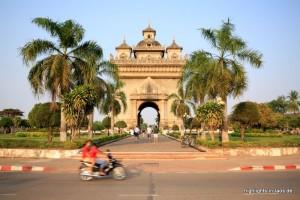 Patou Xai - Triumphbogen in Vientiane
